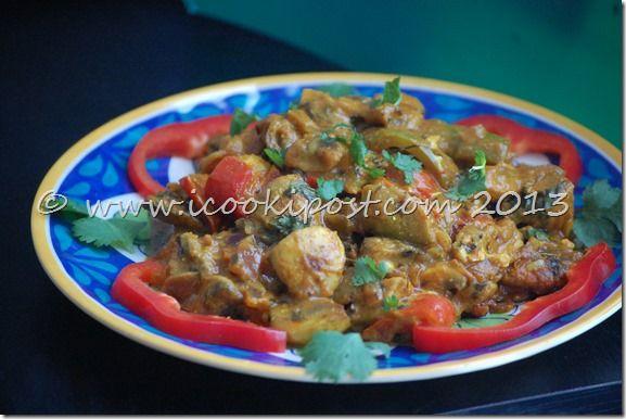 Mushroom Tikka Masala | Food | Pinterest