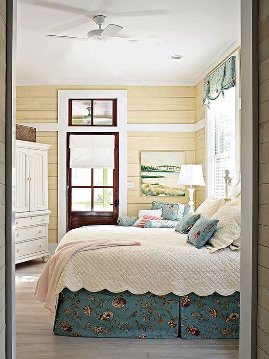 country bedroom ideas love the horizontal wood panels for my country