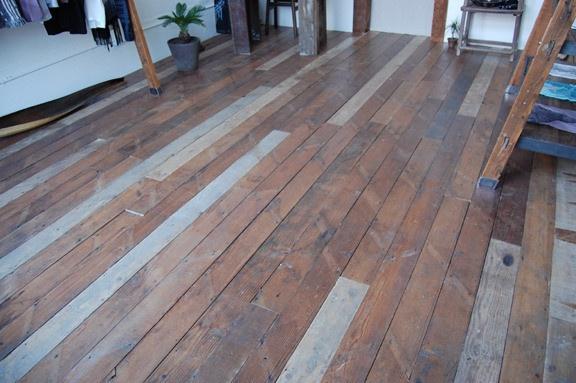 Reclaimed Douglas Fir Flooring Rough Sawn