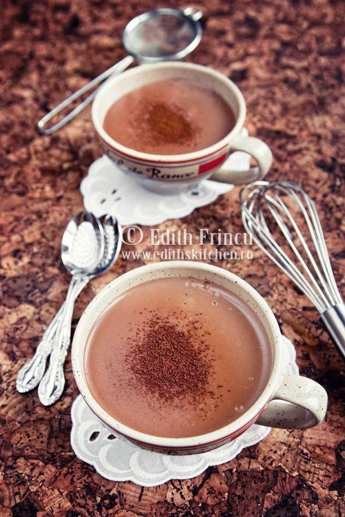 creamy italian hot chocolate.   drinks.   Pinterest