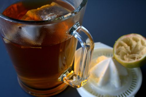 Rooibos & Ginger Iced Tea | Sarah Graham | A foodie lives here