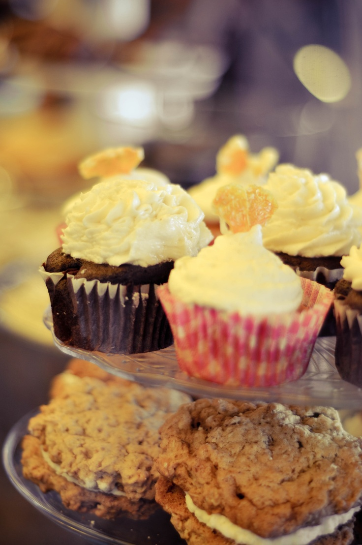... offerings- Chocolate Cupcakes, Orange Creamsicle, Oatmeal Cream Pies