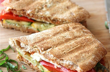 Grilled Italian Panini with Zucchini, Summer Squash Basil Recipes. # ...