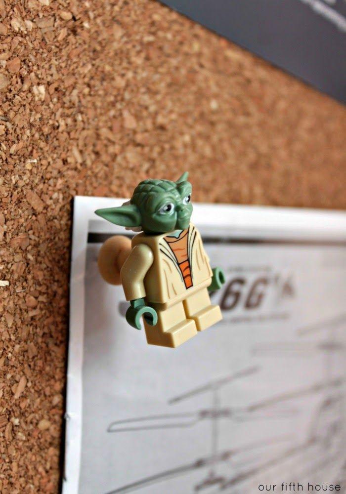 got 5 minutes? - lego push pins