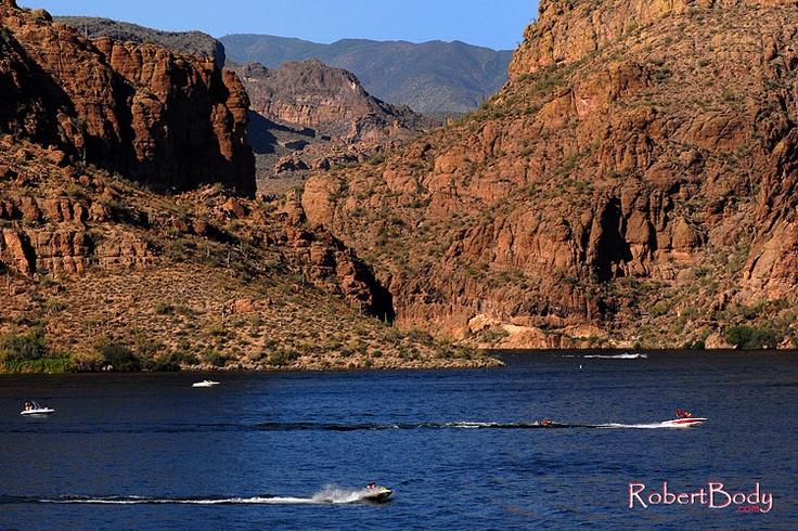 Canyon lake for Fishing in phoenix arizona