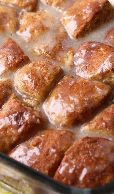 Cinnamon Roll Bites | Recipe