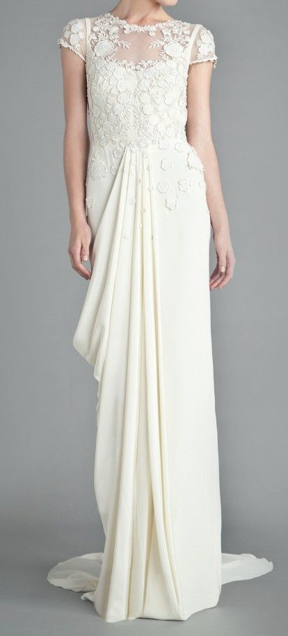 Downton Abbey Inspired Wedding Gown