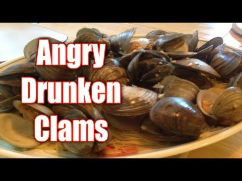 Angry Drunken Clams | Food & Drinks | Pinterest