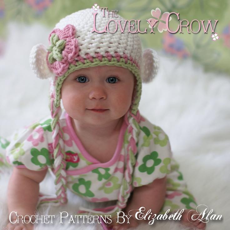 Earflap Hat Knitting Pattern Bulky Yarn : Hat Crochet Pattern for Babies or Toddlers Bulky Yarn ...