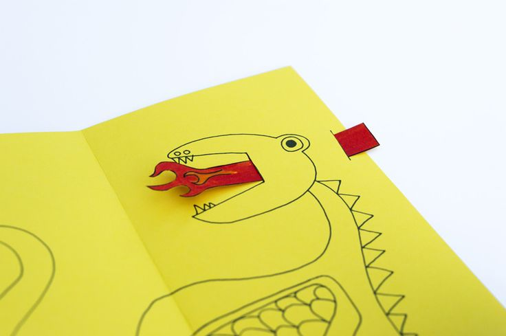 Can't wait to do stuff like this with my little man.    DIY Animated Fathers Day Dragon Card 4