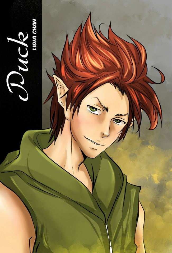 Puck, The Iron King manga by Julie Kagawa