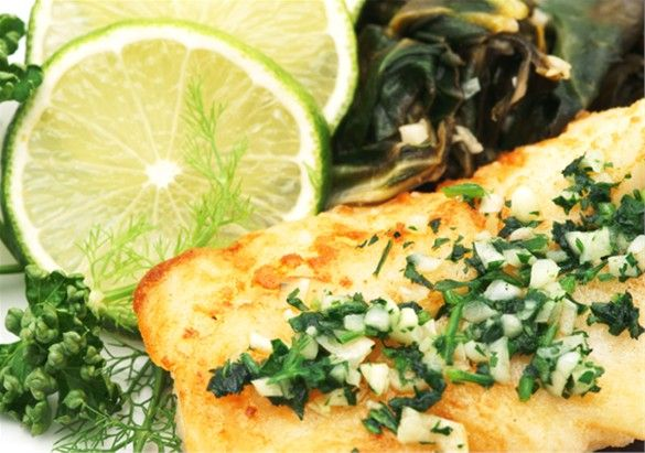 Pan-Roasted Swordfish Steaks With Mixed-Peppercorn Butter Recipes ...