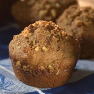 Recipe: Spiced Apple Cider Muffins -- These healthy muffins were ...