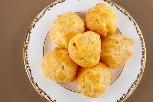 cheddar cheese puffs ... They're like tiny clouds of cheese sent from ...