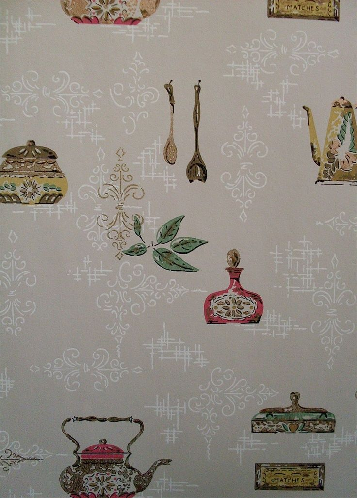 Wallpaper pattern ideas for your kitchen kitchen design for Kitchen wallpaper patterns