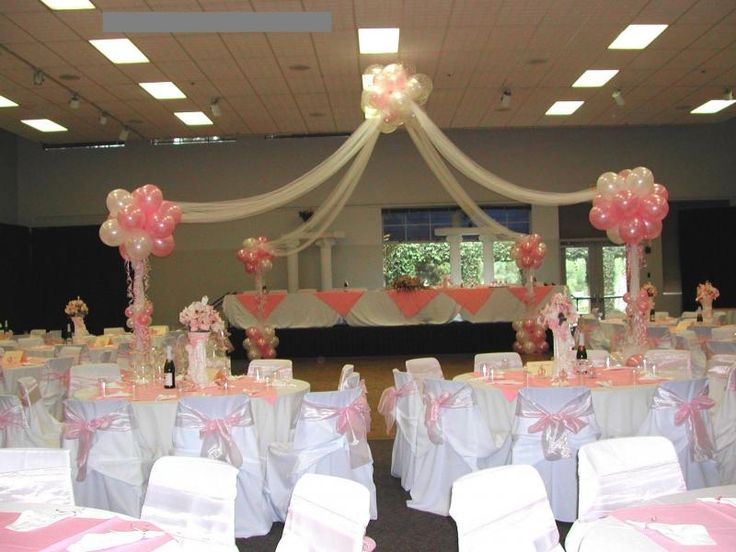 Pictures quinceanera table decorations quinceanera decor for Balloon decoration ideas for quinceaneras