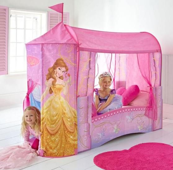 Princess Canopy Bed Toddler