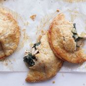 Chicken and Kale Hand Pies with Cheddar Crust, Recipe from Cooking.com