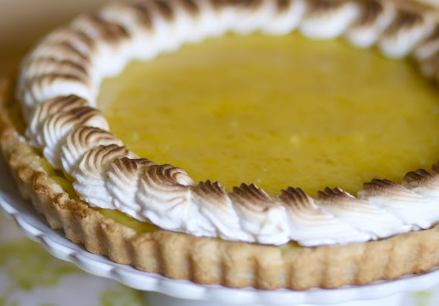 Lime Meringue Tart | The Baker Chick