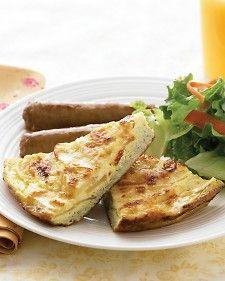 ... Sausage - Martha Stewart Recipes...serve with apple-cheddar frittata
