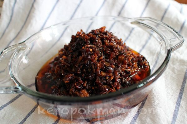 Homemade XO Sauce by keropokman is something I definitely need to make ...