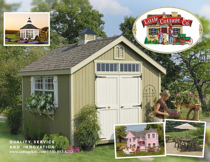 Sheds, greenhouses, chicken coops, dog kennels, and playhouses all in ...