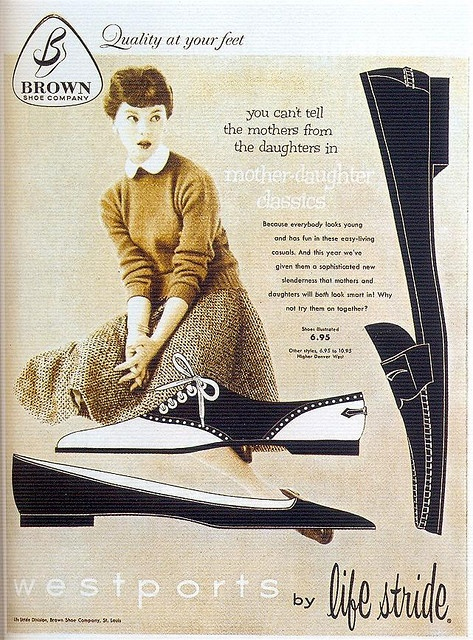 Life Stride Shoes, 1951