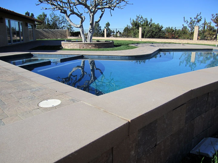 Backyard With Pool Remodel : Backyard and Pool Remodel in Irvine, Ca  Driveways, Patios, Walkway