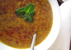 Red Lentil Sumac Soup - Meatless Monday | Meatless Monday | Pinterest