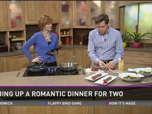 valentine day dinner food network