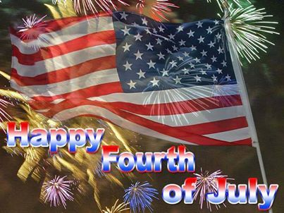 4th of july god bless america