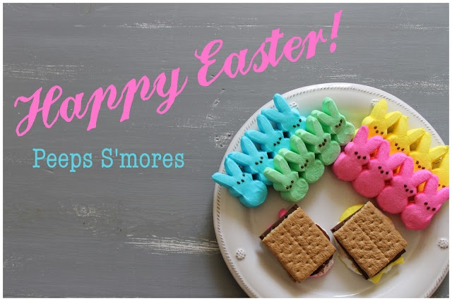 Happy Easter with Peeps S'mores! | He is Risen/Easter PreK ...