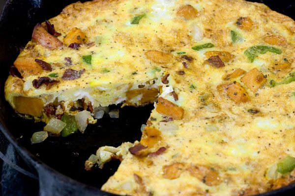 Spanish Omelette with Sweet Potatoes | Eat Like a Cave Girl - Main Di ...
