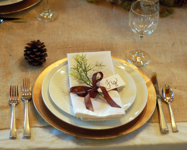 Thanksgiving place setting idea craft ideas and diy pinterest