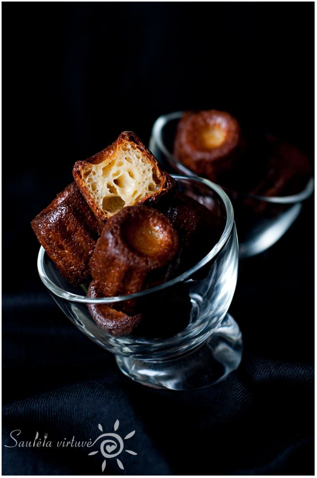 Canelés (Cannelés) de Bordeaux | My Food Blog | Saulėta virtuvė ...