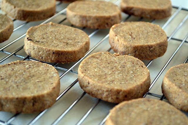 Espresso Hazelnut Shortbread Cookies - The View from Great Island