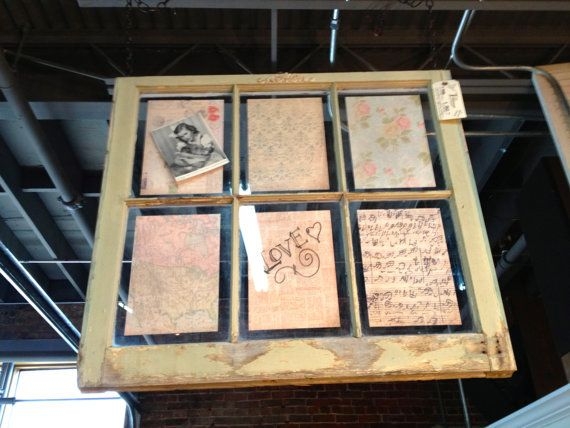 Window frames window pane frame ideas for Using old windows as picture frames
