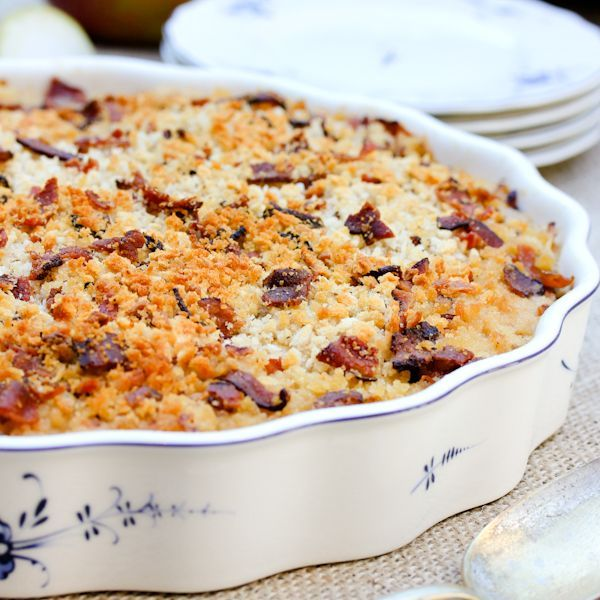 Apple Celery Root Gratin Recipe. | Healthy recipes | Pinterest