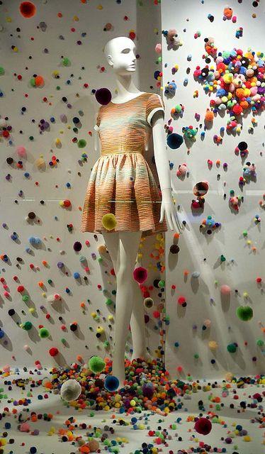 fluff, fluffy, fluffiest,fluffer balls detected at Bergdorf Goodman, pinned by Ton van der Veer