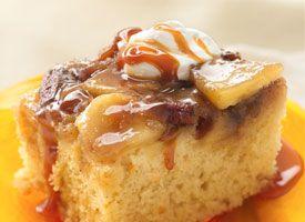 Warm Caramel Apple Cake from Tablespoon. http://punchfork.com/recipe ...