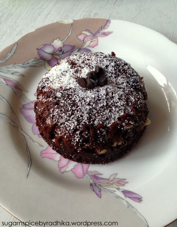 Quick and Easy-1 Minute Chocolate Cake | Food! | Pinterest