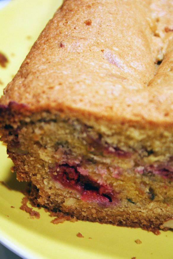 raspberry almond bread 3 | Food & Drink | Pinterest