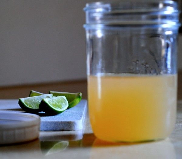 Homemade Sweet & Sour Mix for a Midori Sour