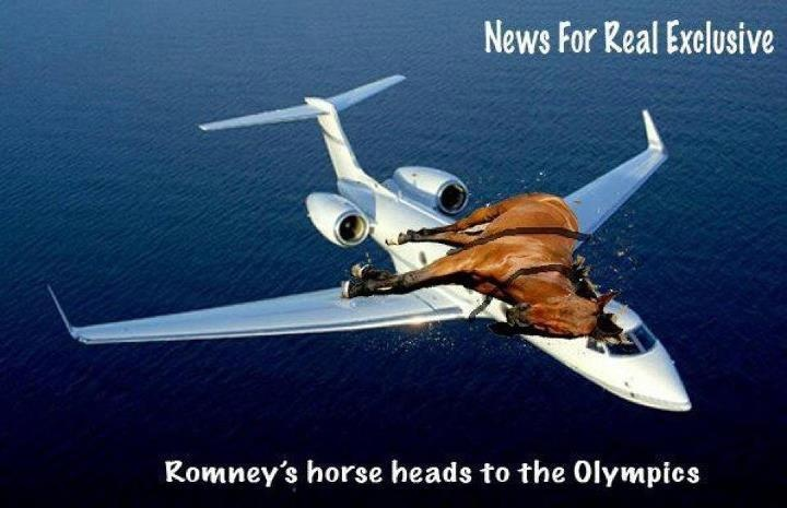 Romney's Horse Heads To The Olympics