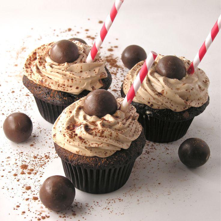 Malted Milkshake Cupcakes | Fabulous Cupcakes | Pinterest