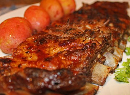20 Minutes to Best-Ever Barbecued Ribs** | Favorite Recipes | Pintere ...