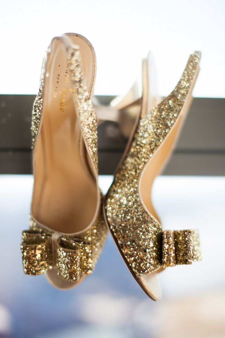 sparkle bow heels kate spade shoes pinterest