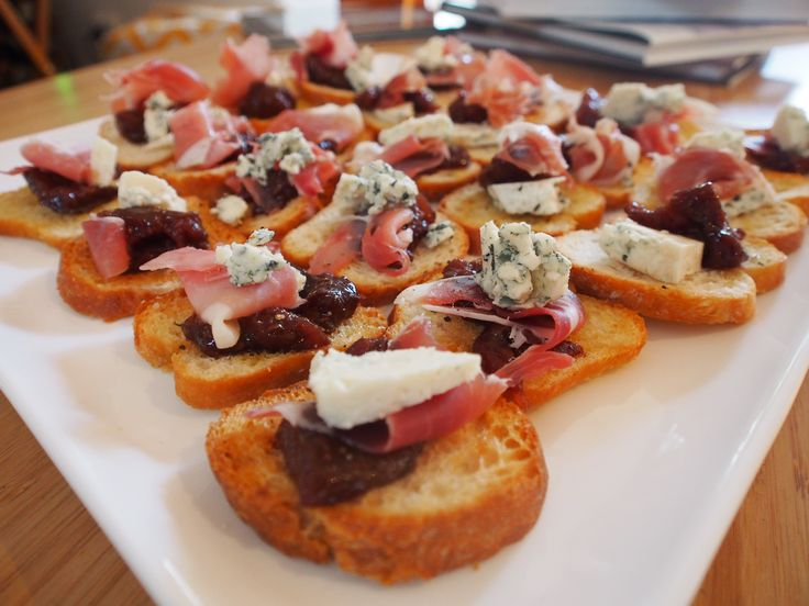 ... 05 11 autumn figs fig jam and fig prosciutto and blue cheese salad