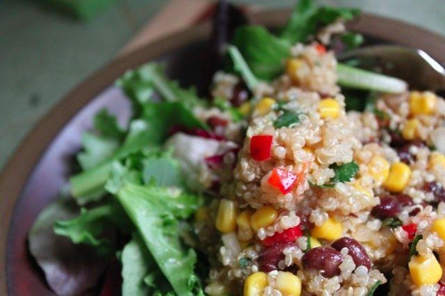 Don't Fear the Quinoa: Southwest Quinoa Salad