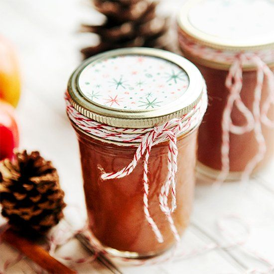 Slow cooker apple butter & overnight apple butter oatmeal with ...